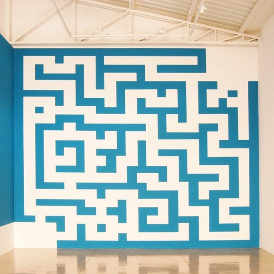 Labirinto,2011, Ateliê Ana Ruas, Campo Grande,MS