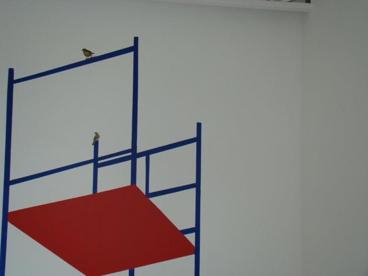 Andaimes, 2011, Ateliê Ana Ruas,MS