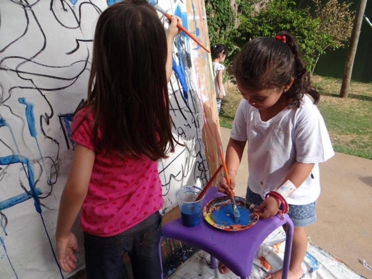 Fotos - Oficina para crianças aos Sábados