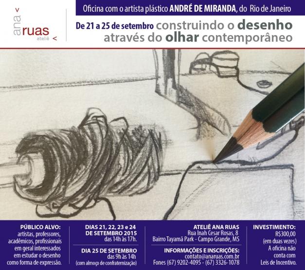 Palestras, debates e oficinas - Arte