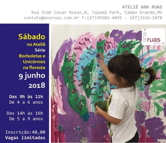 Datas - Oficina para crianças - dois sábados por mês