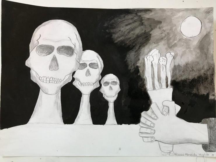 Fotos -  Curso de desenho  para crianças, às sextas-feiras