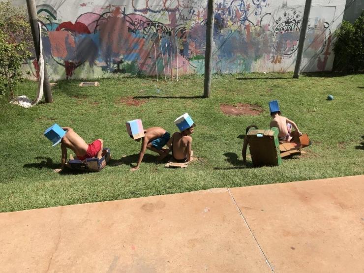 Fotos - Oficina de férias p crianças