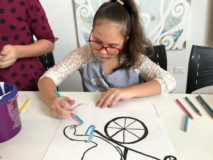 Oficina de desenho para criança - sextas-feiras