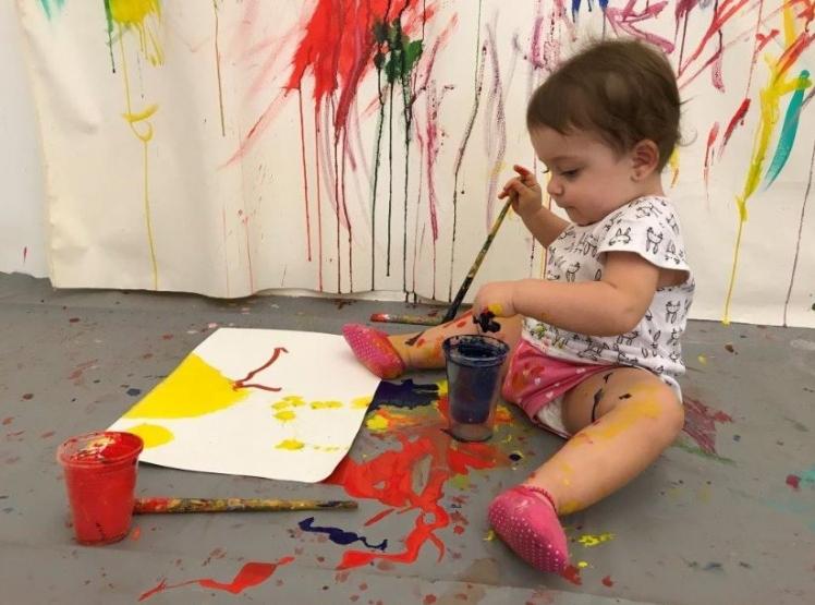 Oficia de arte para bebês